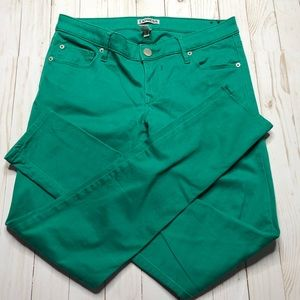 Express - Green Skinny Pants Size 6R